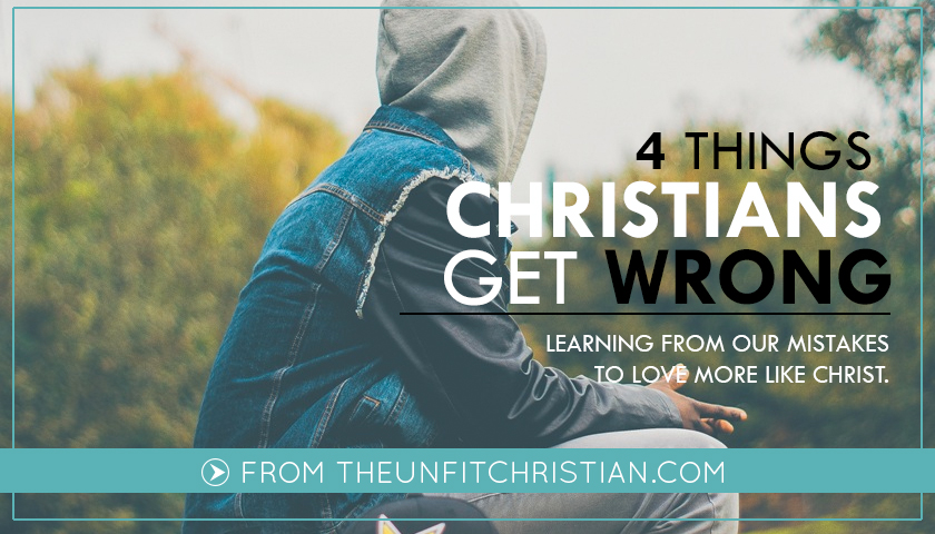 things Christians get wrong