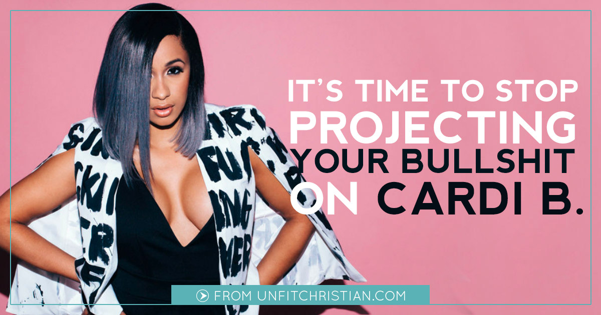 It's Time to Stop Projecting Your Bullshit On Cardi B