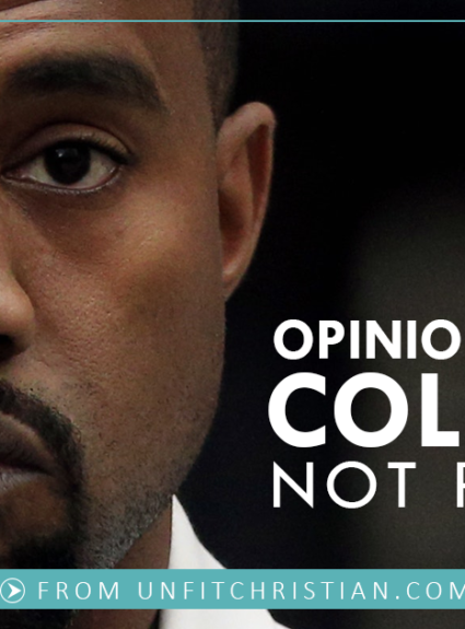Personal Opinions are for Coleslaw, Not Politics.